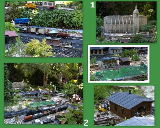 Jardin ferroviaire de chatte for Jardin ferroviaire